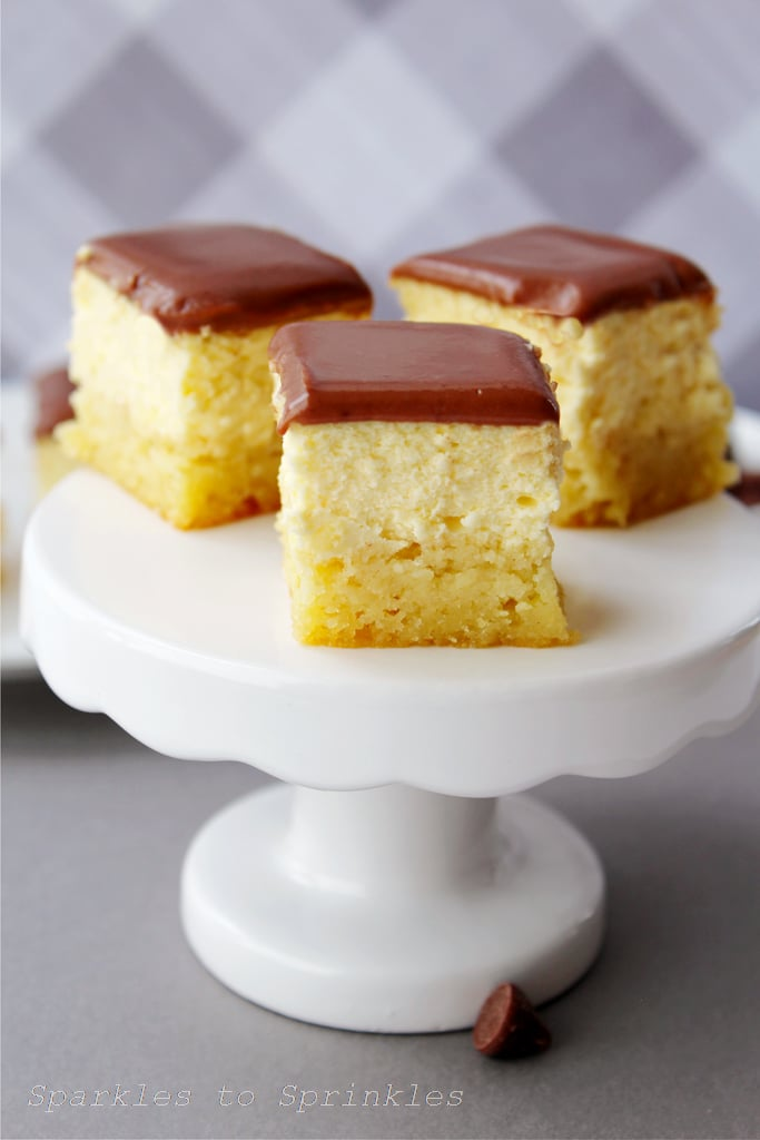 Keto Boston Cream Pie Bites