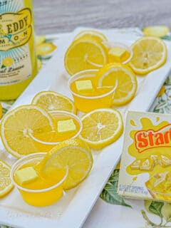 Yellow Starburst Jello Shots