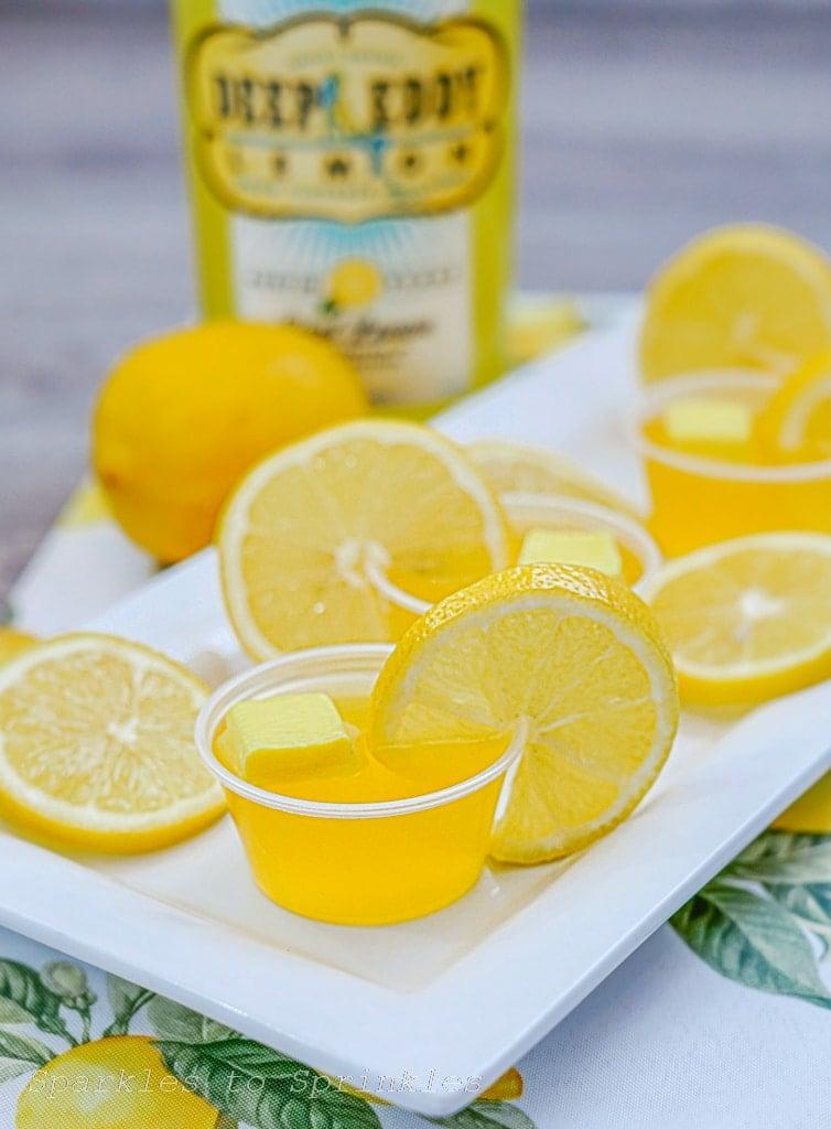 Yellow Starburst Jello Shots