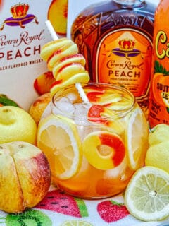 crown royal peach fish bowl drink