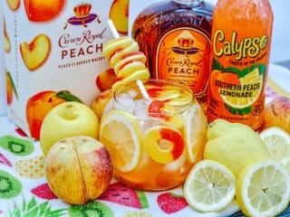 crown royal peach fish bowl drink