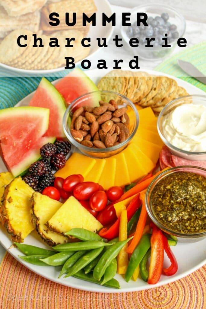 summer charcuterie board
