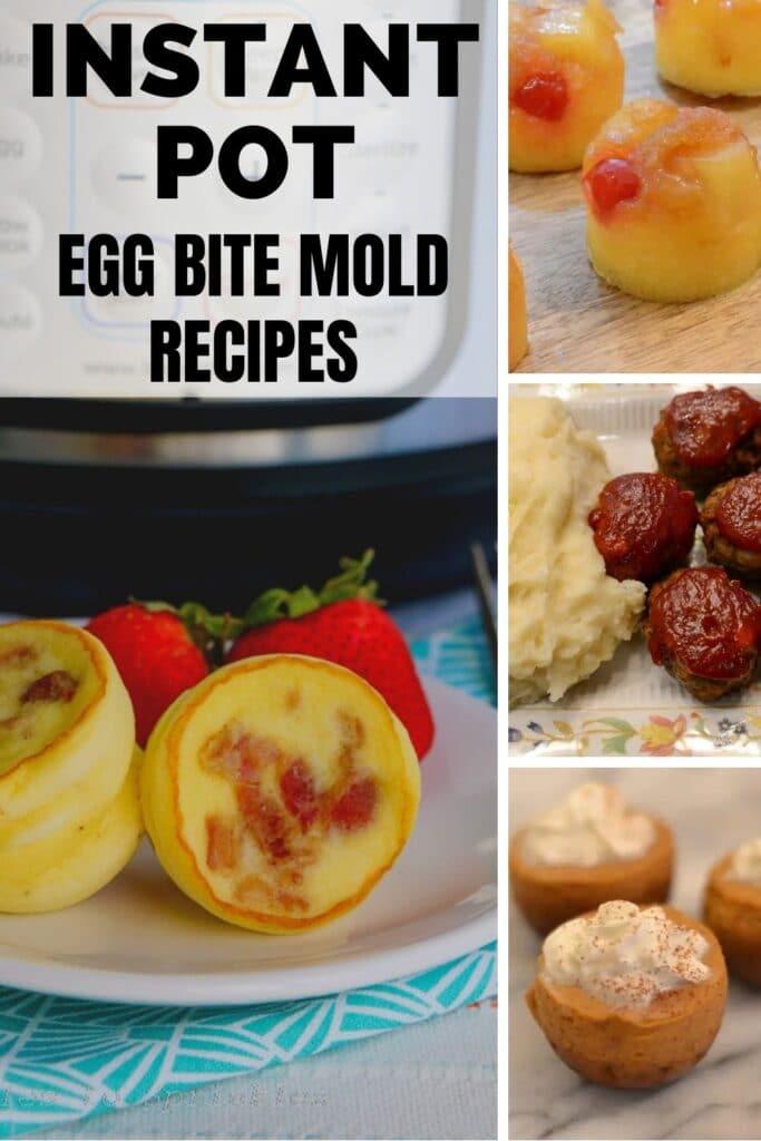 instant pot egg bite mold recipes pin