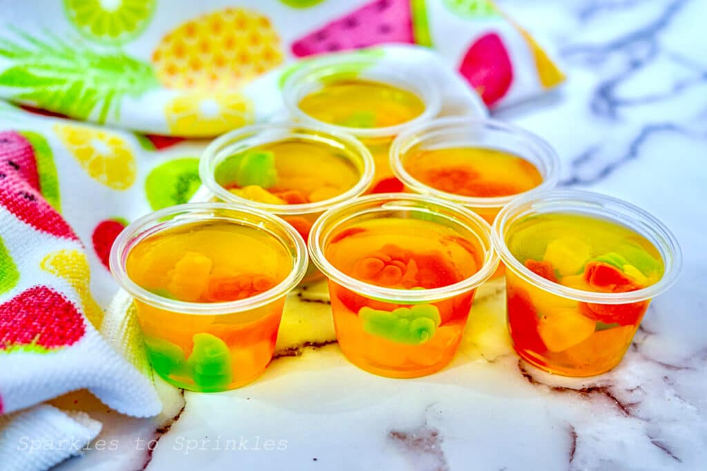 gummy bear jello shots