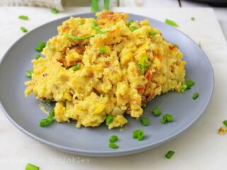 instant pot loaded corn pudding