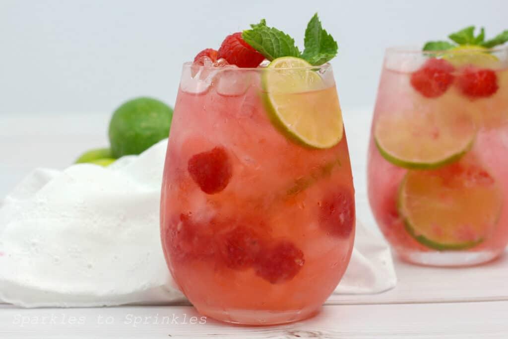 raspberry lime rickey