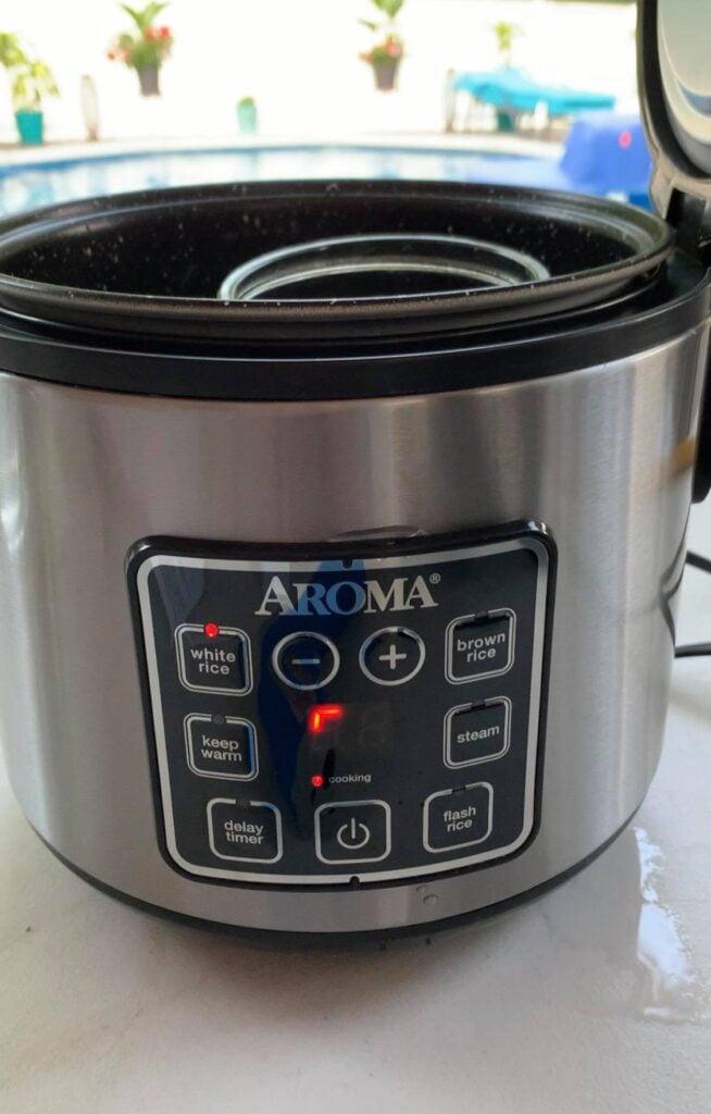 set rice cooker to rice