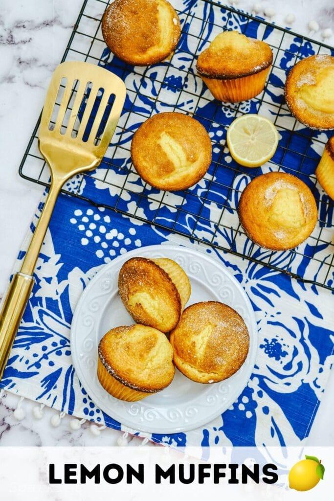 lemon muffins pin